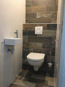 Toilet renovatie.